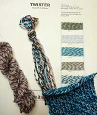 Twister Yarn Samples