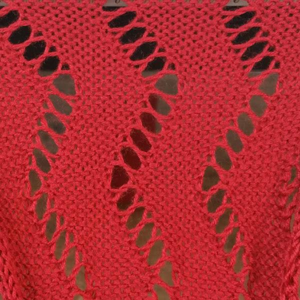 Lace Hand Manipulated Stitch Pattern For Machine Knitting Zig