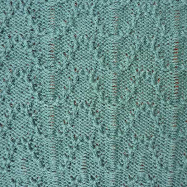 Knitting Stitch Pattern Index : Tuck Lace Stitch Pattern For Machine Knitting KIN 6487 Tuck Lace Knit It Now