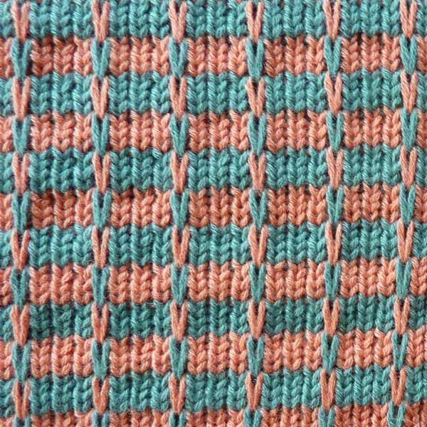 Knitting Stitches Instructions Slip Stitch : Multi Color Slip Stitch Pattern For Machine Knitting KIN 820 Multi Slip K...
