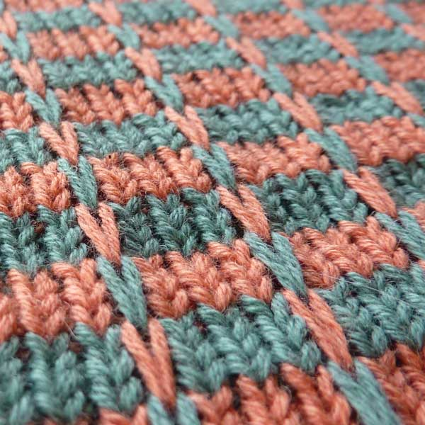 Slip Stitch Knitting Patterns Free : Multi Color Slip Stitch Pattern For Machine Knitting KIN 820 Multi Slip K...