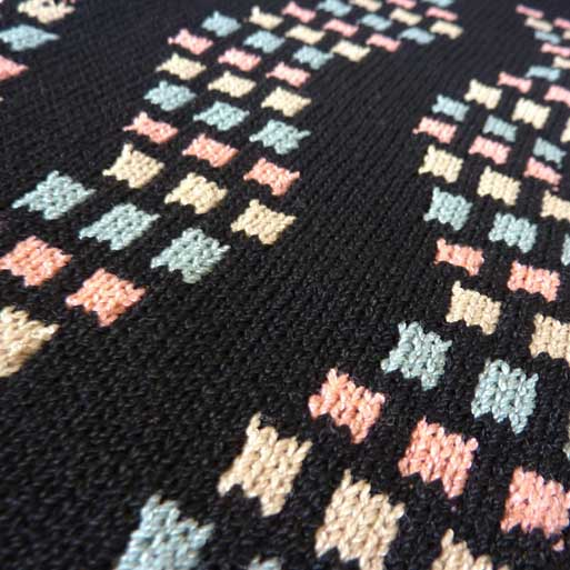Fair Isle, Stitch patterns