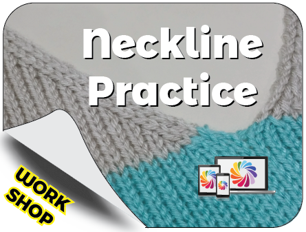 Neckline Practice Knit In Now Course